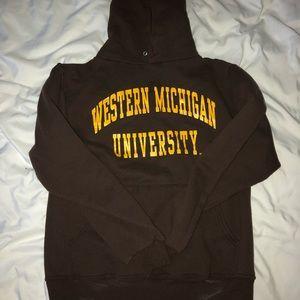 western michigan university sweatshirt